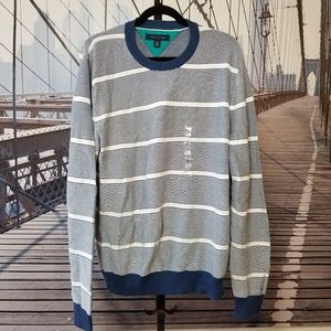 mens Tommy Hilfiger striped sweater L